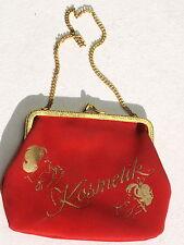 Tasche Mini Schminck Schmincktasche Rockabilly True Vintage Stylisch Gold Kette