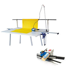 220v High Speed Delay Function Fabric Cloth Cutter With86 Rack Amp Digital Counter
