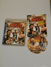 TNA Impact (Sony PlayStation 3, 2008) Complete With Manual