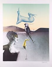 "Paul Wunderlich, Ltd. Ed. Original lithograph, hand signed,""Jagdpoesie"""