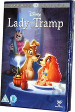 Lady And The Tramp Walt Disney Animated Special Diamond Edition DVD New Sealed