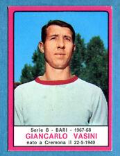 New CALCIATORI PANINI 1967-68-Figurina-Sticker - VASINI - BARI - Nuova