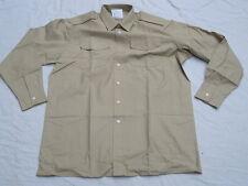 Shirt Mans Fawn,Long Sleeve,All Ranks,Diensthemd,langarm, Gr. 34