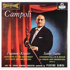 Saint-Saens,Violin Concerto No.3 & Paganini,Violin Concerto / Campoli / Listen!