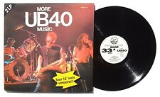 UB40 More Music LP GRADUATE RECORDS GRADLP44 Holland 1983 2XLP Gatefold VG++