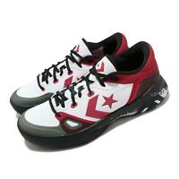 Converse G4 OX White University Red Black Men Basketball Shoes Sneakers 168919C