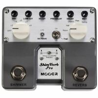 Mooer TVR1 ShimVerb Pro Reverb Guitar Effects Pedal