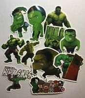 Hulk Sticker Marvel Comics Superhero Movies Avengers Hulk Smash Stickers