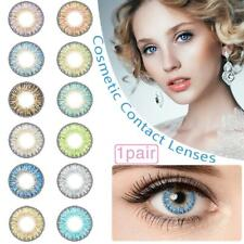 Kontaktlinsen Contact Lenses Cosmetic Cosplay Eye Color Makeup Lens 12 Color