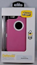 NEW!! OEM Otterbox Defender Series w/ Belt Clip for iPhone 6/6s - Hibiscus Frost