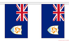 ANGUILLA 9 METRE BUNTING 30 FLAGS flag THE VALLEY CARIBBEAN BRITISH