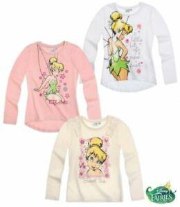 Langarmshirt für Mädchen mit Tinkerbell  Motiv