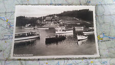 Talsperre Kriebstein Motorboote auf der Talsperre AK Postkarte 0467