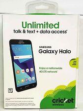Samsung Galaxy J7 Halo Cricket Wireless 16GB 5.5 HD Display - Black