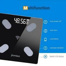 Bluetooth Digital LCD Smart Scale Bathroom Body Weight Bone Analyzer Fat Q3H8