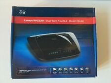 CISCO Linksys WAG320N ADSL2+ Modem Router