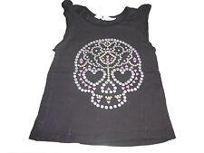 H & M tolles T-Shirt / Top Gr. 110 / 116 anthrazit mit coolem Motiv !!