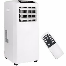 Portable 8000 BTU AC Air Conditioner Dehumidifier fan Unit with Remote White