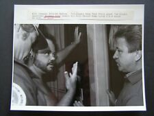 Glossy Press Photo 1986 Hudson Tri-County Drug Task Force Question Michael Ford