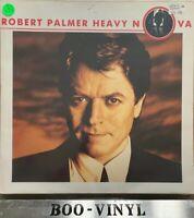 ROBERT PALMER Heavy Nova LP EX UK 1988 w/ Inner Sleeve EMI vinyl record Ex Con