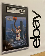 Michael Jordan Metal SGC 8.5 Universe 1997 LAST DANCE Chicago Bulls #23 INVEST