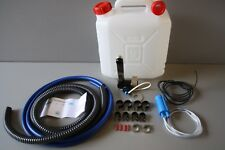 Plumbing Kit for Campervan Sink,Tap & Pump & 20l Water Container Suit Smev 8005