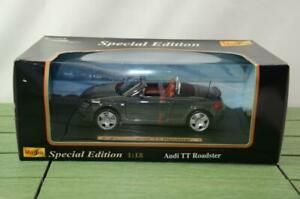Maisto Special Edition 1:18 Scale Audi TT Roadster Grey