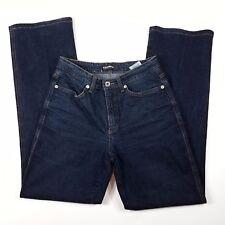 Cambio Jade Jeans Straight Leg Dark Wash Cotton Size 4