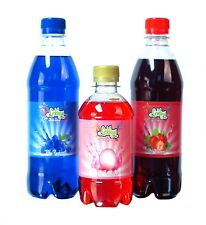 Blue Raspberry & Strawberry Slush Syrups FREE Pink Bubblegum Like Slush Puppie