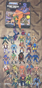 Mattel Masters Of The Universe Point Dread And Talon Fighter Comple + 27 Figures