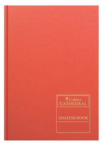 69/6.1 Collins Cathedral Analysis Book 69 Series 6 Cash Columns 96 Pages A4
