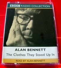 Alan Bennett Reads The Clothes They Stood Up In BBC 2-Tape UNABRIDGED Audio Book