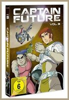 Captain Future vol.3  2DVD Folge 23-31 NEU 2017 Kultserie