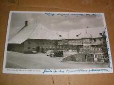 Schauinsland Freiburg Hotel zur Halde 1941 Feldpost Autos