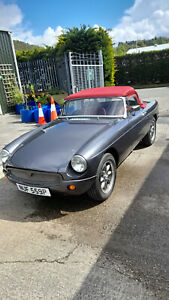 1976 1.8 MGB Roadster with Overdrive - Recent Reconditioned Replacement Engine