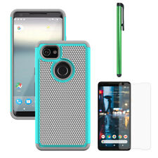 Dual Layer Hybrid Rugged Anti Drop Case Hard Back Phone Cover For Google Pixel 2