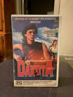 Dakota Ex-rental VHS video tape HTF on DVD Lou Diamond Phillips coming of age