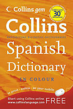 Collins Gem Spanish Dictionary (Collins Gem), Kolektif, New Book