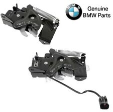 For BMW F22 F30 F34 F80 F87 Pair Set of Left & Right Lower Hood Lock Genuine