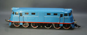 1960's Soviet Russian USSR Tin Toy Moskabel O Scale 0 Diesel Engine Locomotive