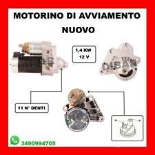 MOTORINO DI AVVIAMENTO NUOVO TOYOTA AYGO 1.4 HDI KW40 CV54 DAL 2005 AL 2010