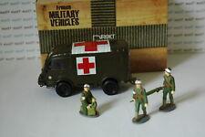 Militaires Français Camion Renault 1000Kg R2087 Croix Rouge+Soldats 1/43 DIREKT