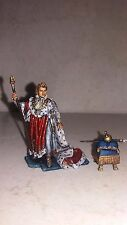 Lead soldier toy ,Napoleon coronation,collectable,gift idea,decor,handmade
