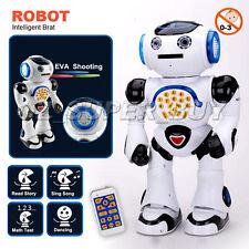 Christmas Xmas kids gift Boy girl Toy Intelligent Robot Moving Brat dancing sing