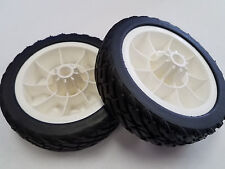 "Qty 2 684776 WHEELS 6"" GENUINE Tires Lawn Boy Lawnboy Lawnmower SILVER GOLD OEM"