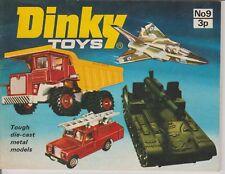 CATALOGUE  CATALOGO DINKY TOYS N°9 1973  ORIGINAL NEUF ANGLAIS