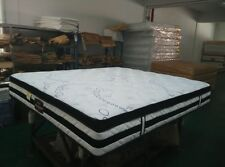 Quality!! Brand New Firm Queen Size Mattress 5 Zone Pocket Spring Pillow Top