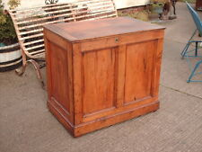 VICTORIAN  RUSTIC  PINE  COFFER /  CHEST / BEDDING  BOX