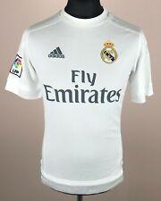 Real Madrid 2015/2016 ADIDAS Home Football Shirt Boys Size XL 15-16Y Jersey