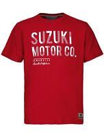 Suzuki Hamamatsu 2019 T-Shirt Red Fashion Street Adult Tee NEW 990F0-FHTS1